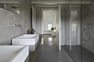 beton lisse salle de bain