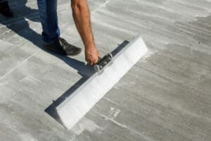 pose beton balaye