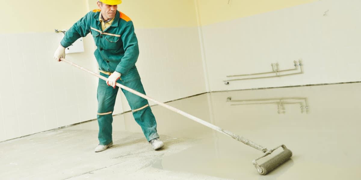 repeindre sol beton